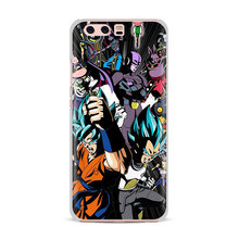 Dragon Ball Goku Printed Case for Huawei (8 types)
