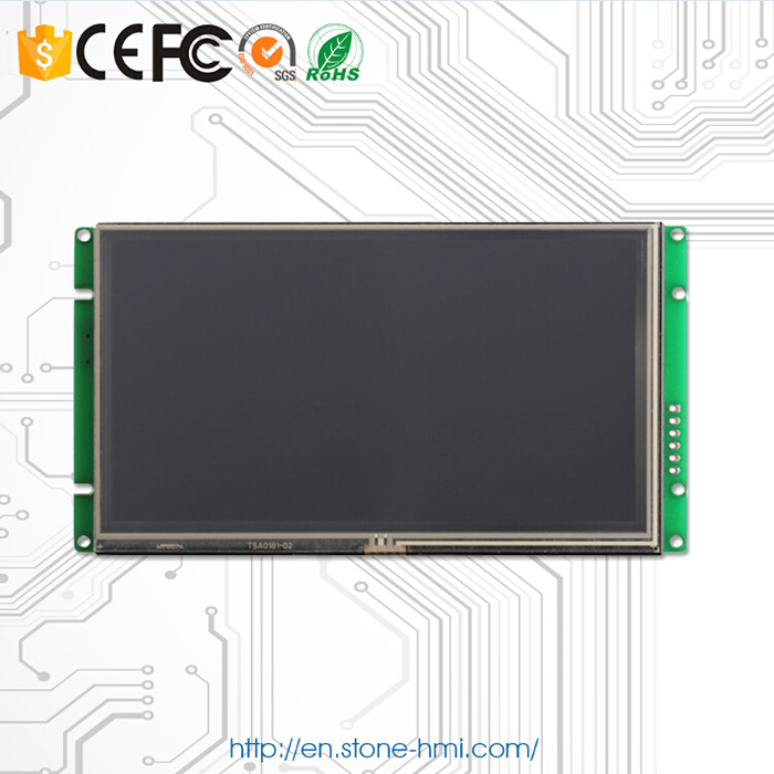 10.1'' Inch LCD Module With Full Color And Touch Screen & UART Port Easy Controlled By MCU