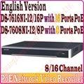 NVR POE 8CH 16CH HD DS-7616NI-I2/16 P DS-7616NI-I2 DS-7608NI-I2/8 P DS-7608NI-I2 ds 7608 ds 7616 ds-7608 ds-7616 DS-7616NI 7608NI