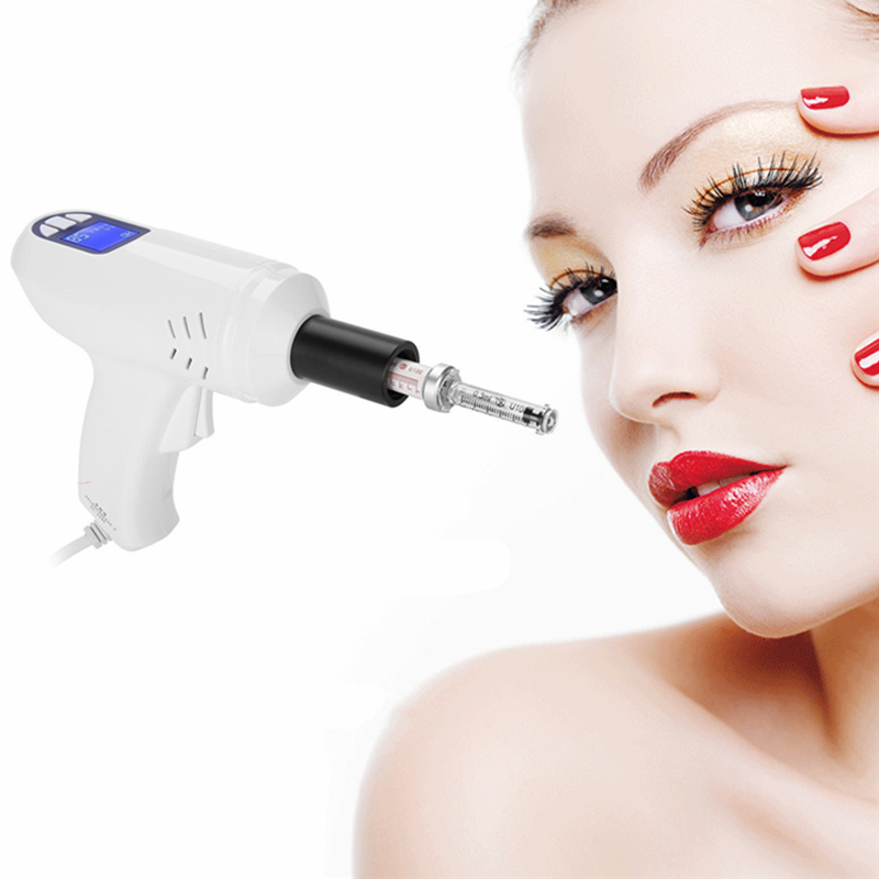 Image 5 - Electric Needle Free Nebulizer No Needle Meso therapy Skin Whitening Injection Hyaluronic Acid Micro Injector Anti Aging Machine-in Face Skin Care Tools from Beauty & Health
