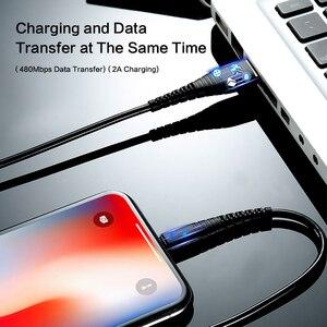 Image 5 - FLOVEME Per Illuminazione Cavo del Caricatore del USB Cavo di Hi di Tensione Cavo di Ricarica USB Per il iPhone di Apple Xs Max XR X 7 6 s 6 s Plus Filo Corto