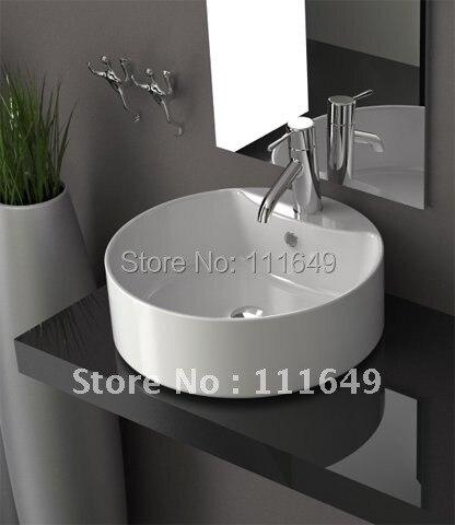 7001 kleine keramische badkamer aanrechtblad wassen handwas kom ...