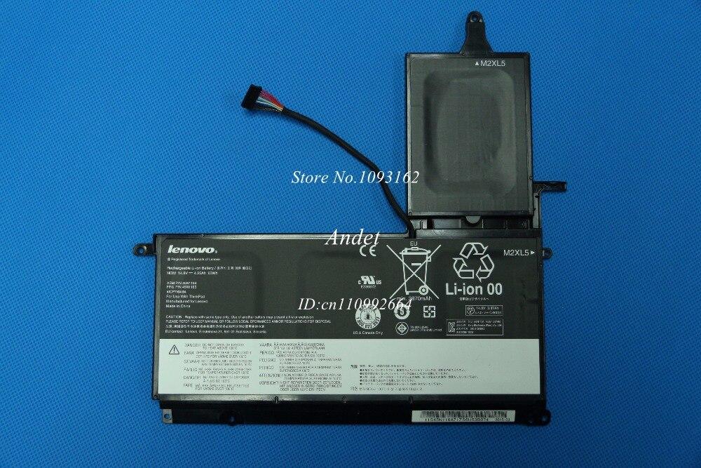 New Original Laptop Battery for Lenovo ThinkPad S531 S540 45N1165 45N1167 14.8V 4.25Ah 63WH цены онлайн