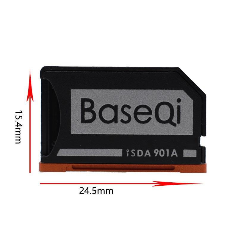 Image 2 - New Baseqi Ninja Stealth Drive Card adaptor Aluminum MiniDrive Micro SD Memory Card Adapter for Lenovo yoga 900 & 710 Dropship-in Memory Card Adapters from Computer & Office