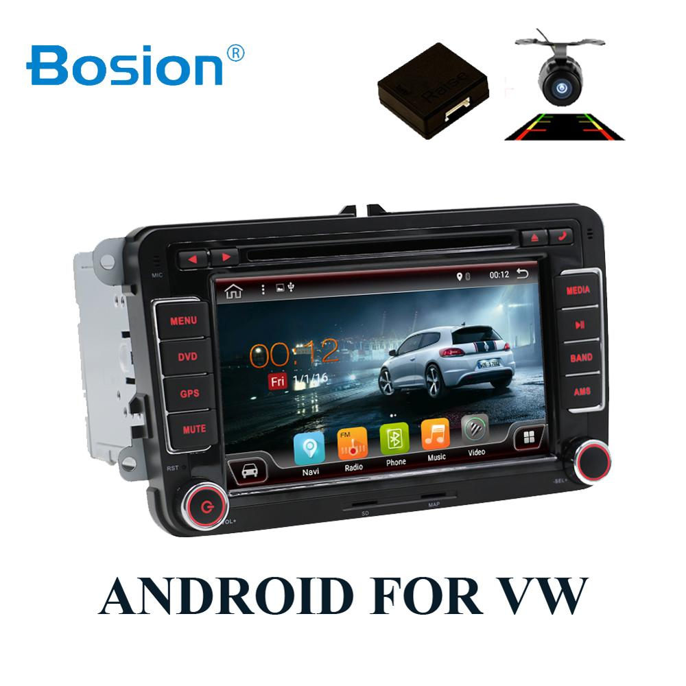 2 din <font><b>android</b></font> 8.1 Car DVD player for Volkswagen <font><b>GOLF</b></font> 5 <font><b>6</b></font> POLO PASSAT CC TIGUAN TOURAN EOS SHARAN SCIROCCO TRANSPORTER T5 CADDY image