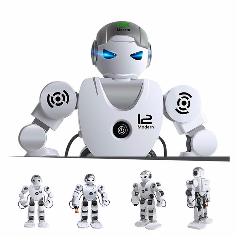 купить Alpha mechanical warfare remote control robot toy kids holiday gift interactive toy electronic pet robot dog недорого