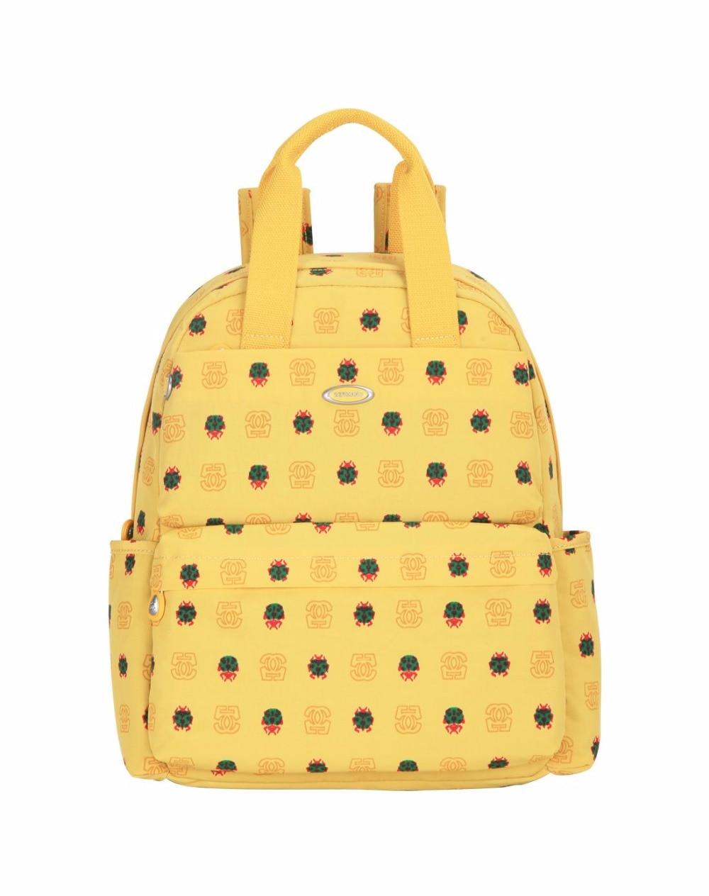 ФОТО Germano Famous Brand Kip Backpack Girls School Bag Waterproof Nylon Women Backpack Fashion lady Backpack Casual Knapsack