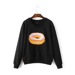 2016 autumn new women s fashion font b donuts b font printed long sleeved t shirt.jpg 250x250