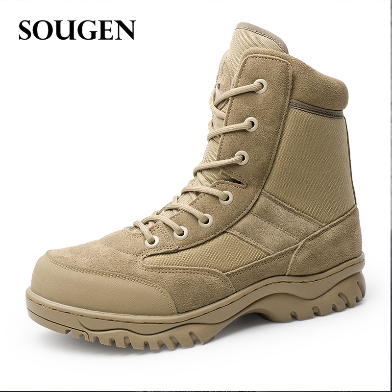 Boots Tactical Winter Shoes The Military Boot Mens Army Large Sizes Male Suede Combat Footwear for Men Askeri Bot esdy Shoe все цены