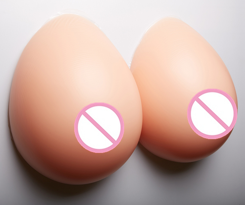 Buy Breast Form 3600g/pair Realistic Silicone Breast Boobs Crossdresser Artificial Breast Enhancers Silicone Fake Natural Breast