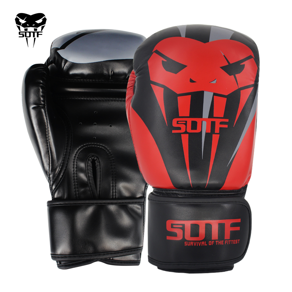 Survival Fight Hand Target Boxing Gloves Tiger Muay Thai MMA Pads Sport Fitness