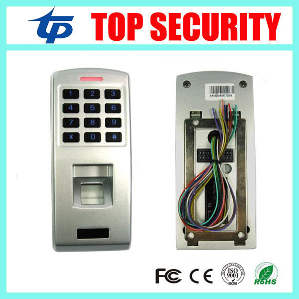Standalone biometric fingerprint door access control system with keypad metal fingerprint access controller good quality high speed zk f19 biometric fingerprint access control system standalone fingerprint door access controller reader