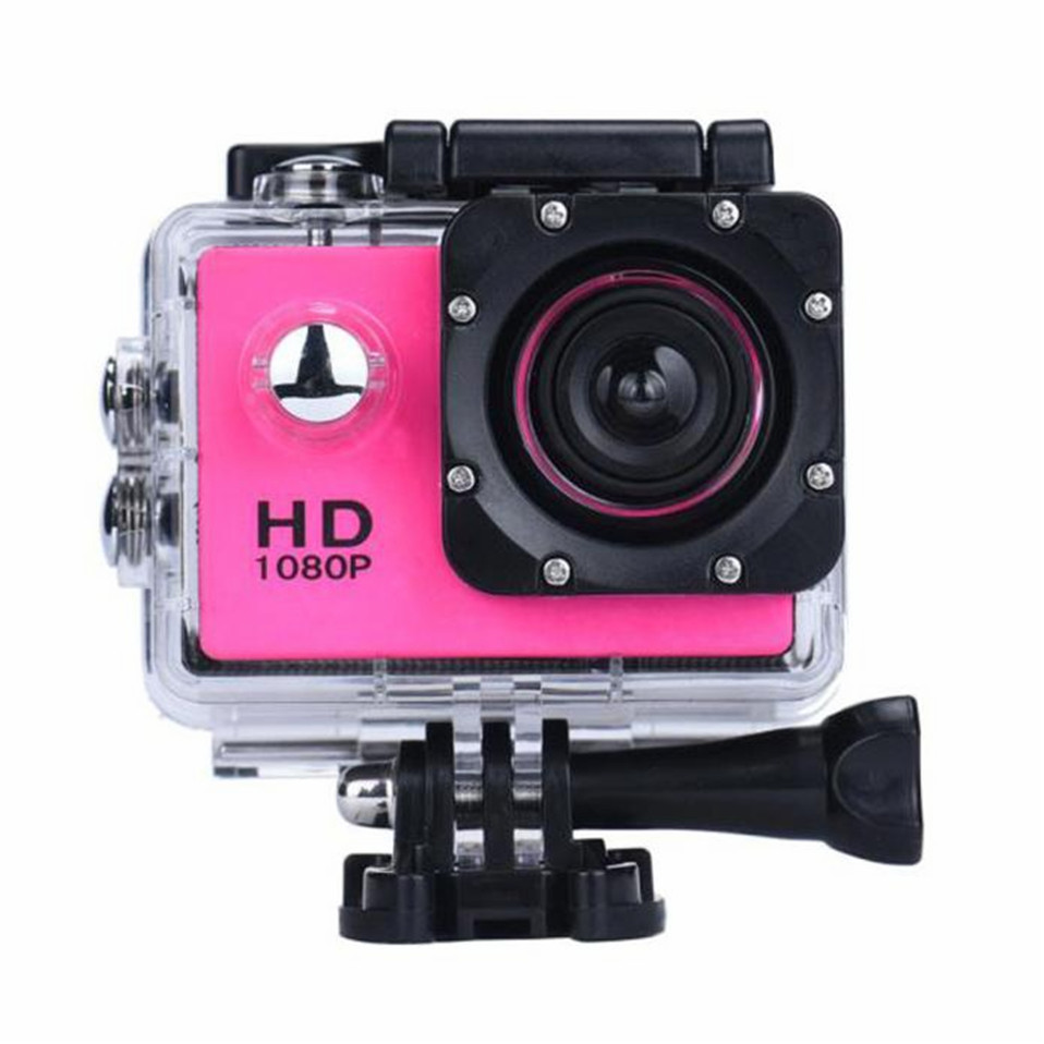 2017 New International 2Inch Mini Waterproof Camera Sports Recorder Car DV Action Camcorder 1080P HD Camera Helmet Cam Wholesale
