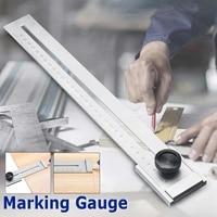 Screw Cutting Marking Gauge 0 300mm Mark Scraper Tool Graduation 0.1mm For Woodworking Measuring Carbon Steel Gauging Tools