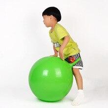 55 CM Verdikking Springen Bal Speelgoed Opblaasbare Cartoon Hoorn Bal Fijne Materiaal Kinderen Gezondheidszorg Stuiterende Balans Bal