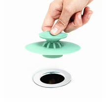 Shower Drain Stopper | Silicone Plug for Shower Bathtub
