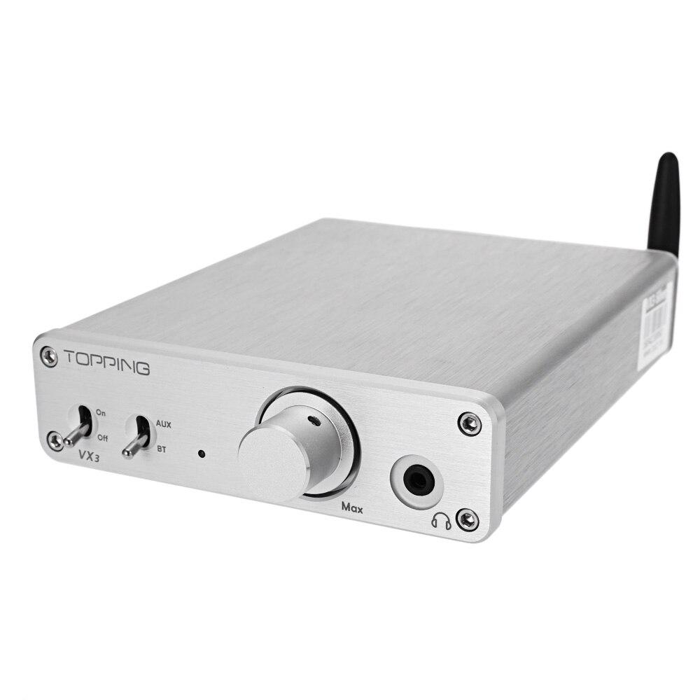 ФОТО 2016 New TOPPING Vertex VX3 Wireless Bluetooth HiFi Stereo Digital Amplifier