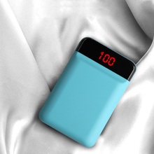 Power Bank 12000mah Mini External Battery Charger with LCD Display Fast Charging Powerbank For iPhone XS X Samsung Smartphones odem 12000mah li ion battery 3 usb power bank for iphone samsung htc white