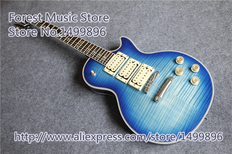 все цены на Hot Selling Ace Frehley LP Electric Guitars Three Pickups Chrome China Guitar Lefty Custom Available