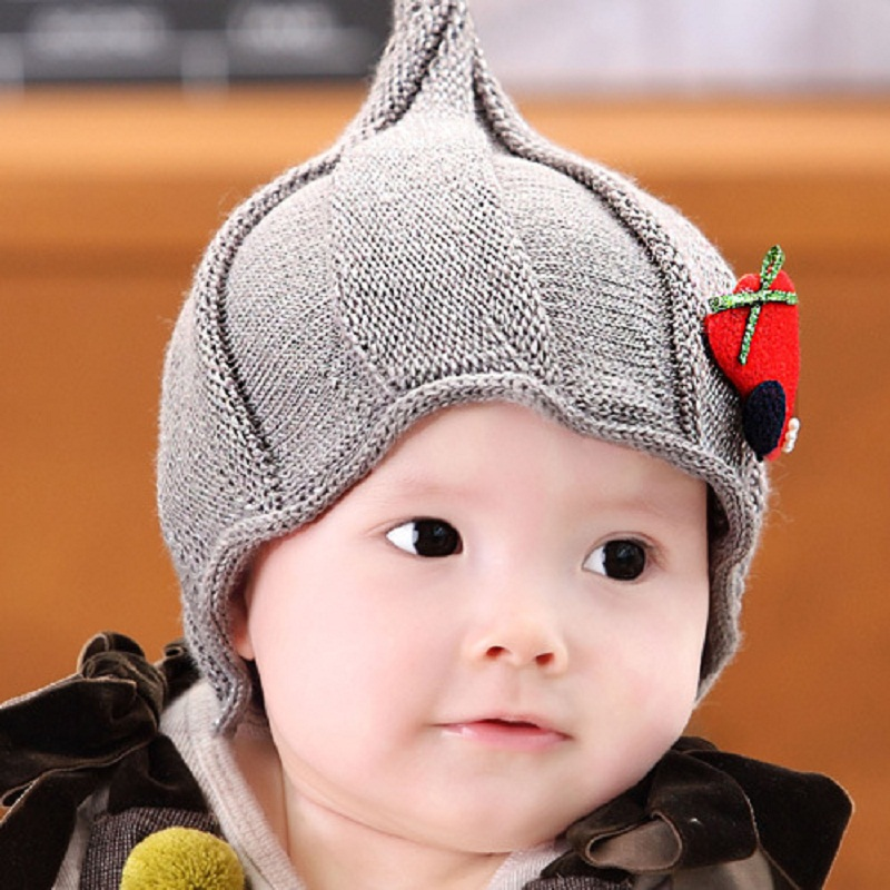 481562dbef23 1Set Free Shipping Winter Hats for Baby 6 M 3 Years Old Boys   Girls ...