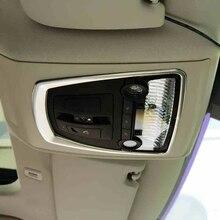 Per BMW 5 Serie 7 5GT X3 X4 F10 F18 F01 F07 F25 F26 Stile Auto Interni Luce di Lettura Anteriore lampada Telaio di Copertura Trim Accessori