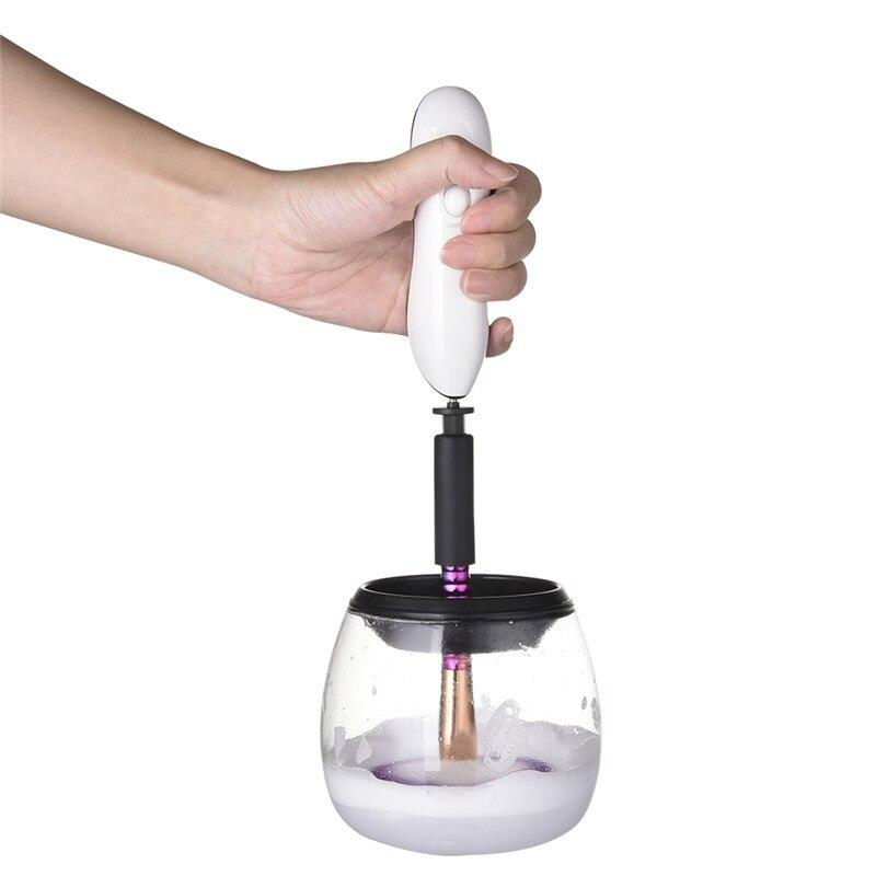 Cosmética Cepillos limpiador conveniente silicona maquillaje Cepillos limpiador Limpieza máquina herramienta