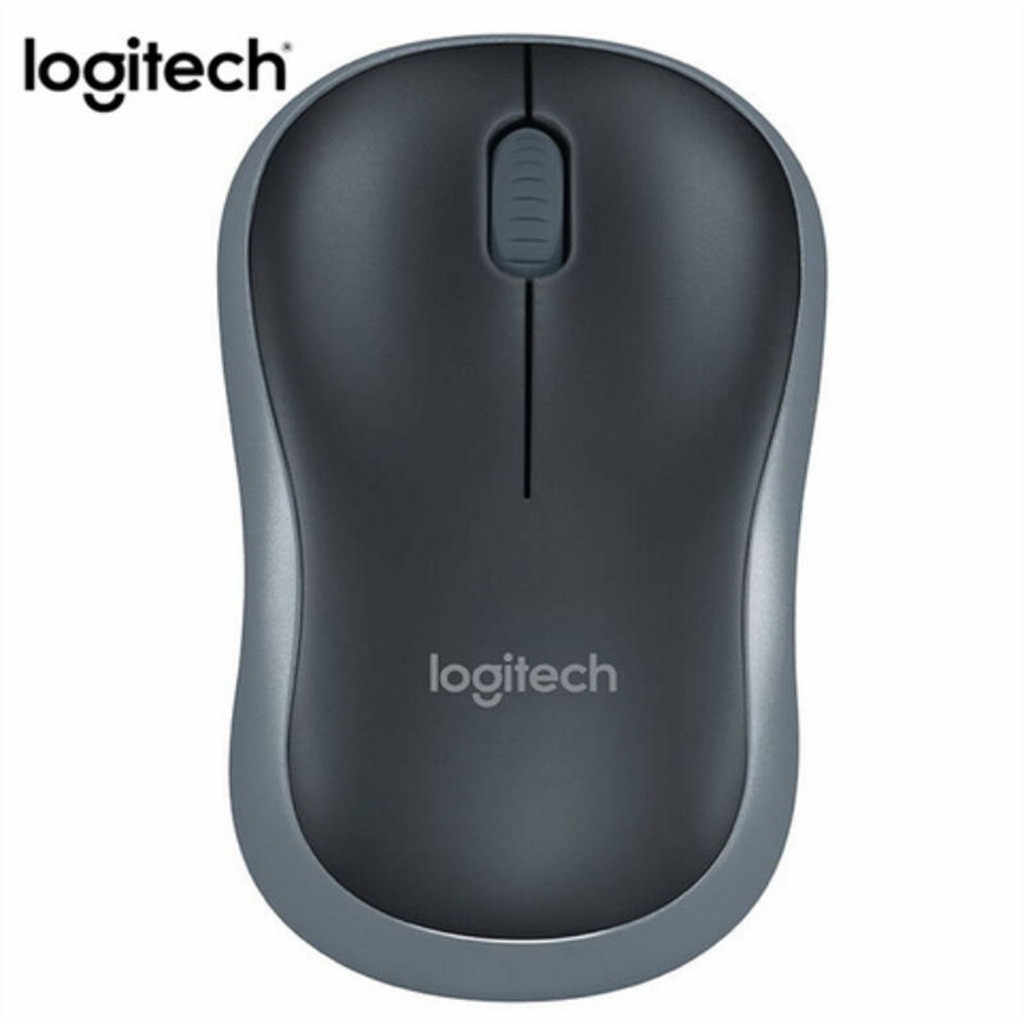 Logitech M186 Optical Ergonomis 2.4GHZ Wireless Mouse 3 Tombol 1000 Dpi Optical Mouse Mouse untuk Laptop PC Mouse untuk Komputer 719 #2