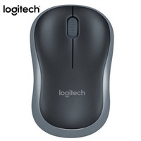 Logitech M186 Optical Ergonomic 2.4GHZ Wireless Mouse 3 Button 1000DPI Optical Mouse  Mice Laptop PC Mouse For Computer 719#2|Mice| |  -