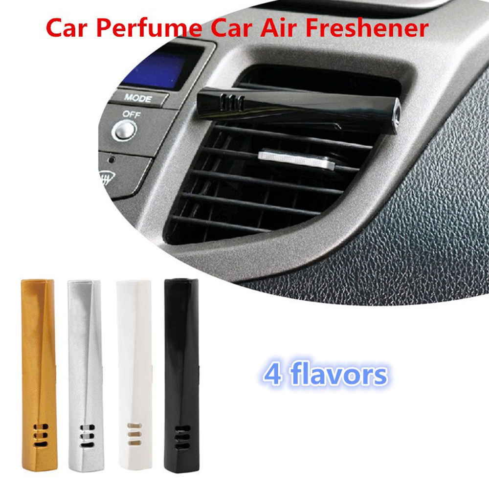 1PCS Newest Car Perfume Car Air Freshener Colorful Fragrance Luxury Car Perfume Conditioning Vent Clip