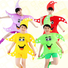 popular style kids costumes cartoon animals small starfish stage performance clothing, clothes