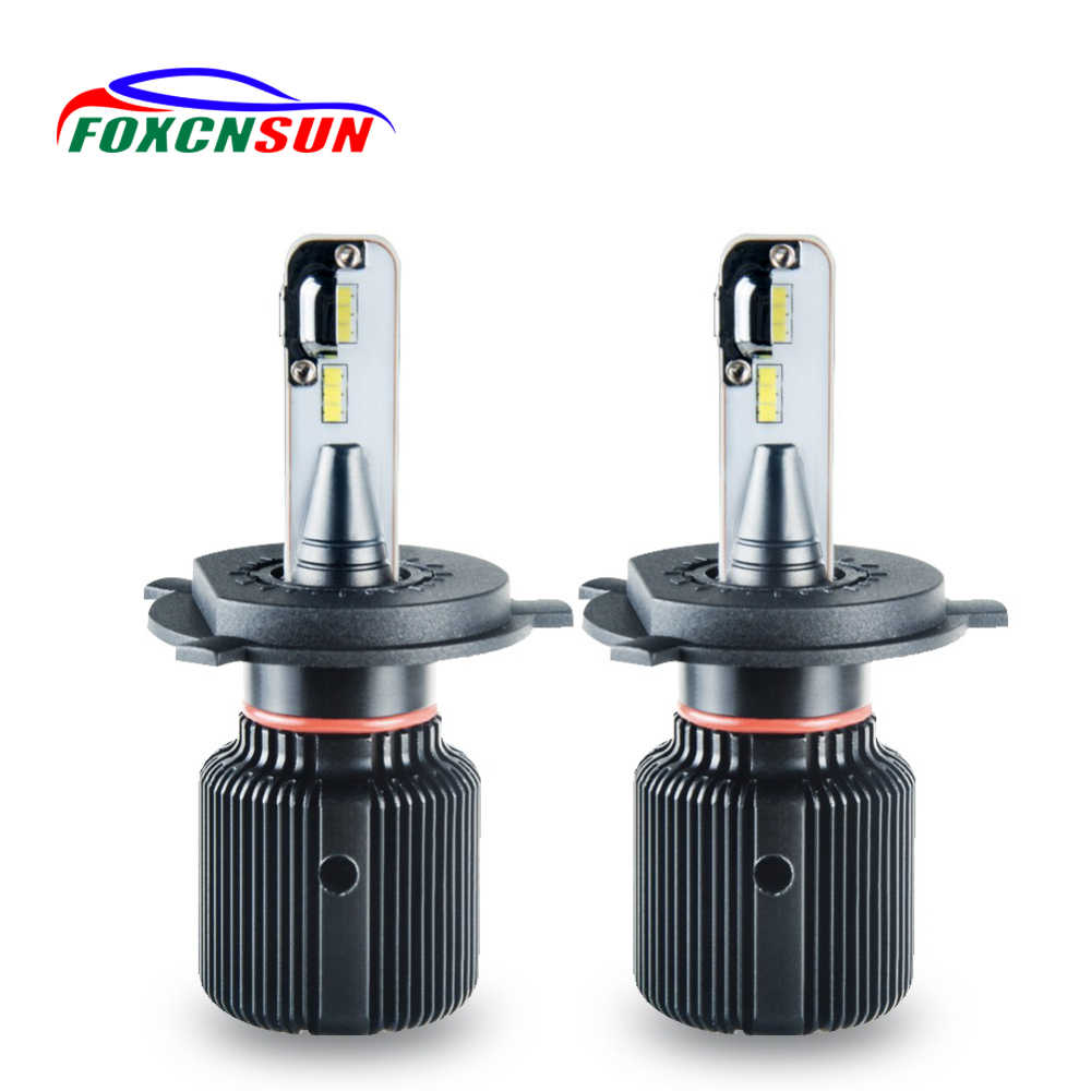 H4 Led H7 Mini Canbus Car LED Headlight lamp 8000LM H1 H11 9005 HB3 9006 HB4 H13 HIR2 12V 24V CSP 6500K 80W Auto Fanless Bulb