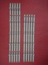 10ピース/セットledバックlg i番目ストリップlg 49LB550V 49LB561V 49LB570V 49LB580V 49LB585V 49LB5610 49LB5800 49LB580N 49LB5700 49LF5610