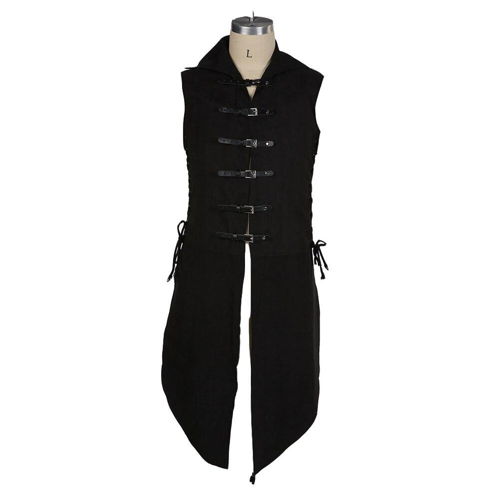 chaleco renacentista Medieval hombre fantasía de para túnica Ropa agwCqZ8OC