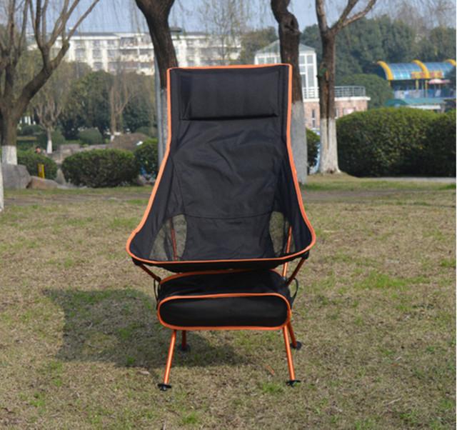 ChairMoon Ultraleve pesca Dobrável Lazer Cadeira de Acampamento com Saco portátil para Caminhadas Ao Ar Livre Piquenique CHURRASCO
