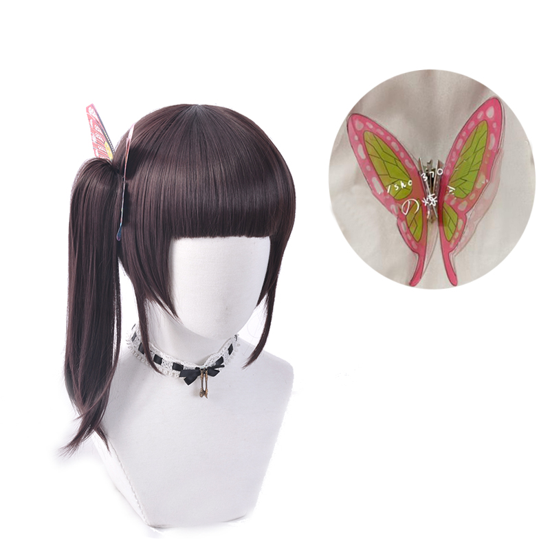 Costume-Prop Demon Slayer Butterfly Kanao Cosplay Anime Kimetsu Tsuyuri No-Yaiba Hair-Accessory