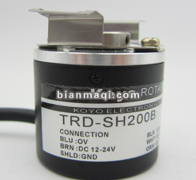 TRD-SH200B Japan's Koyo Encoder outer diameter of 38mm semi-hollow shaft diameter 8mm spot r38t 10g05l1024bm rotary encoder 1024 pulses shaft diameter 10mm outer diameter 38mm