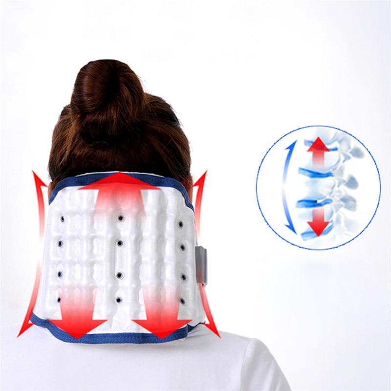 Brand Neck traction device household stretched cervical traction inflatable cervical spondylosis cervical collar hanging neck