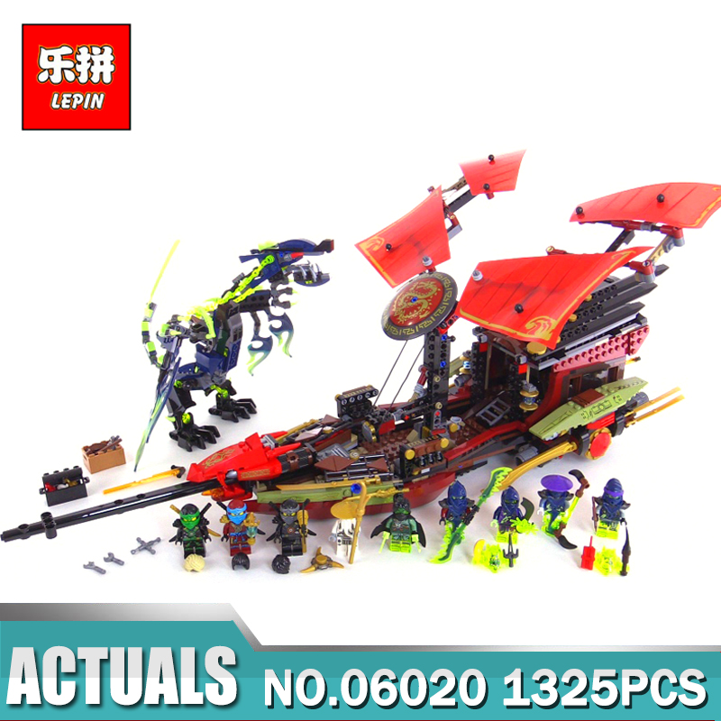 Lepin 06020 Final Fight of Destiny's Bounty Kid Educational Building Blocks Kits Toys Compatible with LegoING 10402 Model Gift lepin 21004 ferrarie f40 sports car model legoing building blocks kits bricks toys compatible with 10248