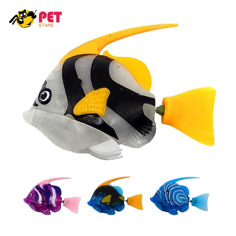 Aquarium Decoration Robotic Fish Artificial Swimming Robot