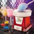 Nostalgia PMC805RETRORED Retro Series Mini Household Cotton Candy Sugar Floss Maker Machine For Kids