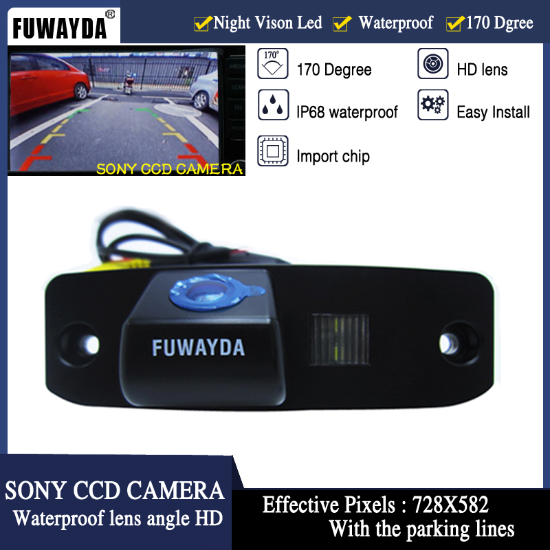 CCD Rear View Camera Reverse Backup Review Parking Fit for Mazda CX-5 2013-2016