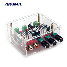 Aiyima TPA3118 Digital Amplifier Board Amplificador 30W*2+60W 2.1 Channel Subwoofer Mini Home Theater Sound System With Case