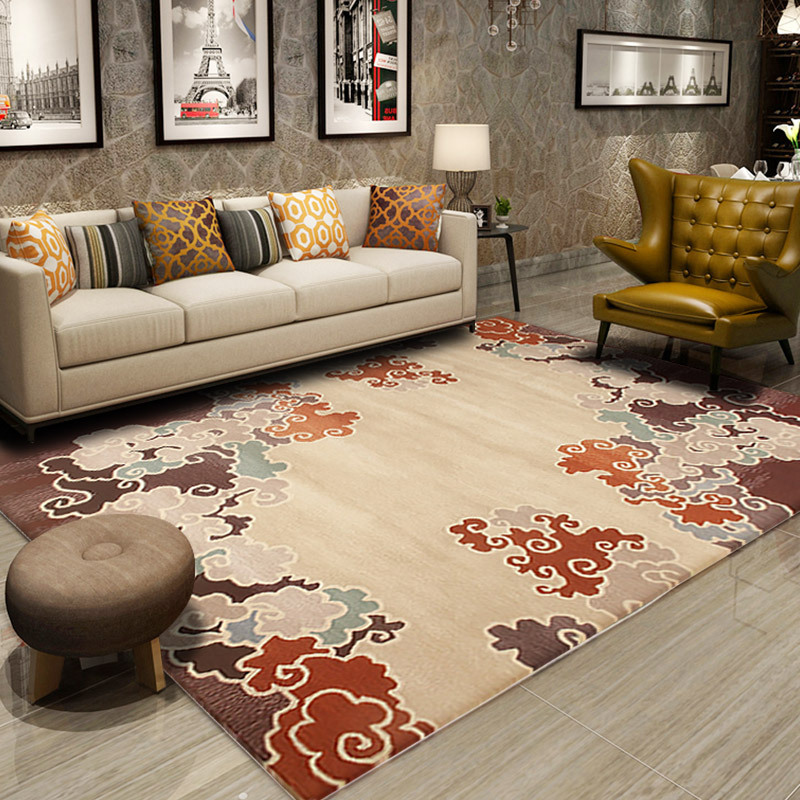 New Zealand Wool Carpet Livingroom Traditional Chinese Carpet Bedroom Home Decor Rug Sofa Coffee Table Floor Mat Dining Rugs