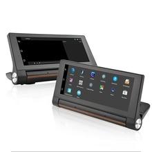 Maluokasa 4 г 7 дюймов Android WiFi 5.1 навигаторы Регистраторы автомобиля GPS навигации Bluetooth DVR MTK8382 4 ядра Бесплатная Географические карты двойной камера