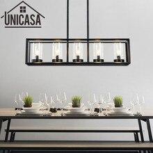 Lámpara de techo Vintage grande para Bar, lámpara colgante para cocina, Isla, luces antiguas de hierro forjado, iluminación Industrial para oficina