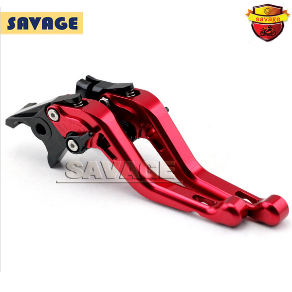 ФОТО For HONDA CB600F HORNET 2007-2013 Red Motorcycle CNC Billet Aluminum Short Brake Clutch Levers