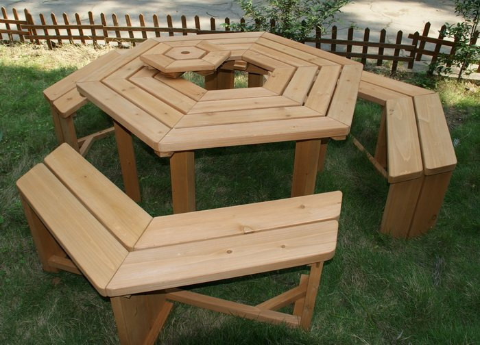 Brilliant Bbq Patio Table Bench In Outdoor Tables From Furniture On Pdpeps Interior Chair Design Pdpepsorg