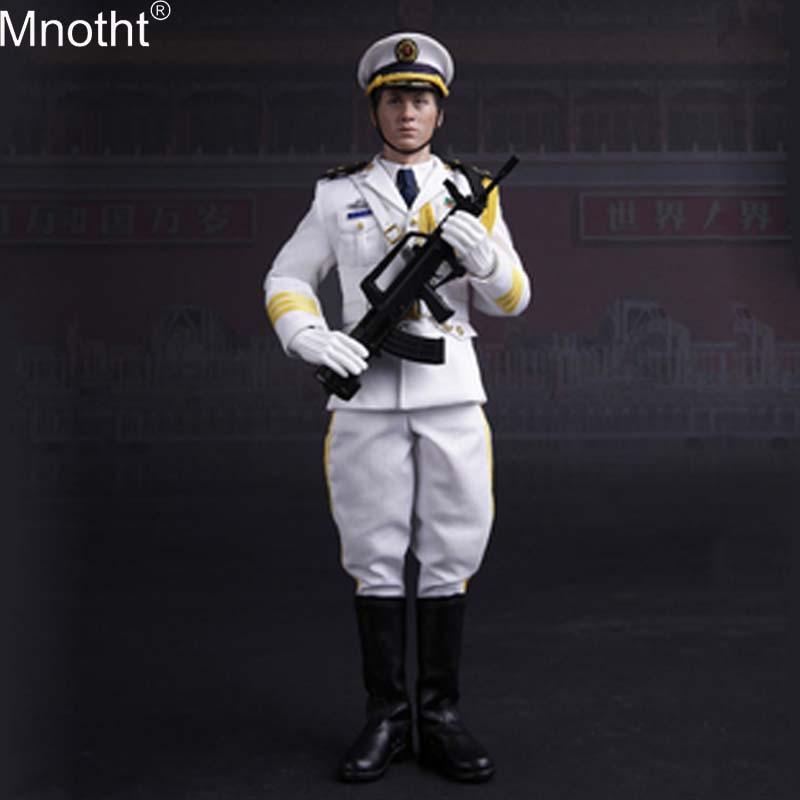 Mnotht 78029 1/6 Китайская народная армия освобождения, Honor Guard, военно воздушные силы, игрушки, модель Для 12 дюймового солдата, фигурка b