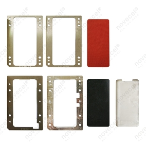 Image 4 - עבור iPhone X XS XSMax XR 11 פרו מקסימום LCD עובש למינציה מסך מתאים YMJ BM סדרת Novecel Q5 a5 למינציה mahcine