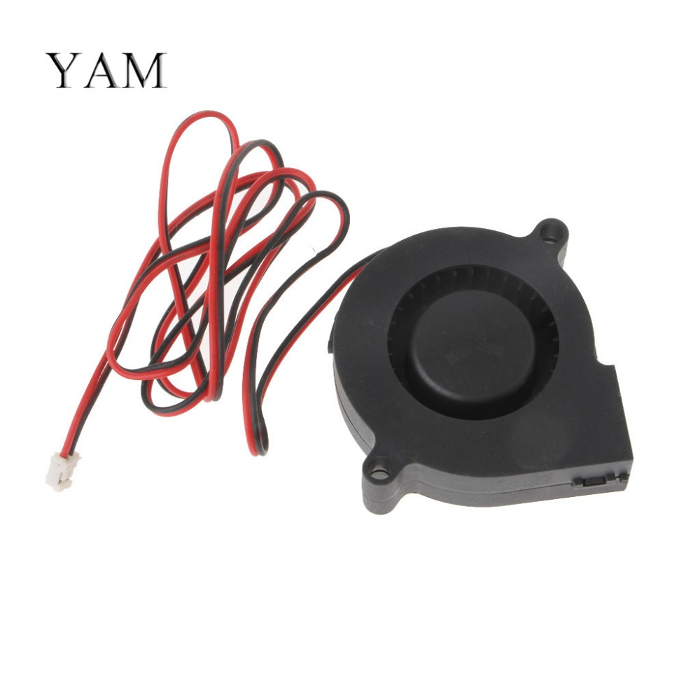YAM DC 12V 0.06A 5015 50x15mm Projector Blower Centrifugal Brushless Cooling Fan цены онлайн